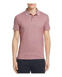 Theory   Multicolor Sandhurst Pique Slim Fit Polo Shirt for Men   Lyst