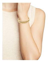 Chan Luu - Metallic Gray Leather Bracelet - Lyst