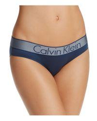 Calvin Klein - Blue Customized Stretch Bikini - Lyst