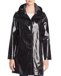 Stutterheim - Black Mosebacke Slicker Opal Raincoat - Lyst