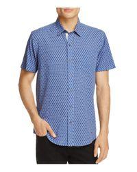 W.r.k. - Blue Spokes Reworked Regular Fit Button-down Shirt for Men - Lyst