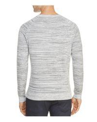 HUGO - Gray Srolon Sweater for Men - Lyst