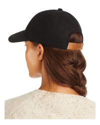 august hat company - Black Solid Baseball Cap - Lyst