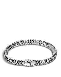 John Hardy | Metallic Small Chain Bracelet With Kali Clasp | Lyst