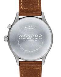 Movado - Black 43mm for Men - Lyst