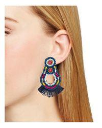 BaubleBar - Blue Sophina Drop Earrings - Lyst