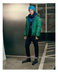 Moncler | Green Guimet Hooded Jacket for Men | Lyst