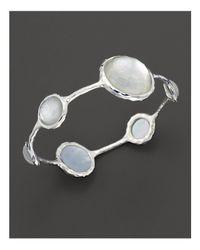 Ippolita | Metallic Sterling Silver Wonderland Lollipop Bangle In Mother-of-pearl | Lyst