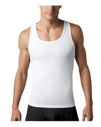 Spanx   Black Cotton Compression Tank Top for Men   Lyst