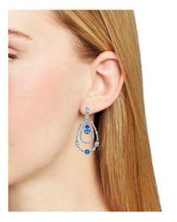 Nadri - Multicolor Cannes Teardrop Earrings - Lyst