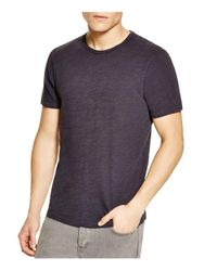 Rag & Bone - Black Basic Tee for Men - Lyst