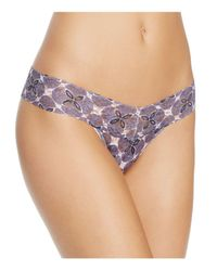 Hanky Panky | Multicolor Low-rise Thong | Lyst