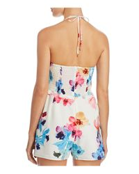 6 Shore Road By Pooja - Multicolor Noontime Romper Cover-up - Lyst