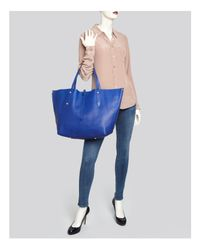Annabel Ingall - Blue Isabella Large Leather Tote - Lyst