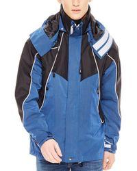 Sandro - Blue Atlantic Coat for Men - Lyst