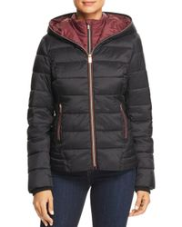 Marc New York - Black Performance Layered Front Puffer Jacket - Lyst
