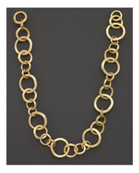 "Marco Bicego | Metallic Jaipur 18k Yellow Gold Necklace, 19"" | Lyst"