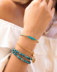 Gorjana - Metallic Palisades Adjustable Bar Bracelet - Lyst