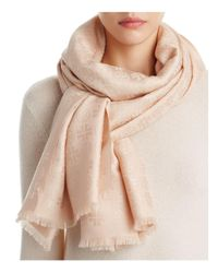Tory Burch | Natural Traveler Oblong Scarf | Lyst