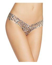 Hanky Panky | Brown Leopard Nouveau Low-rise Thong #4x1581 | Lyst
