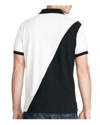 Polo Ralph Lauren - Black Big Pony Slim Fit Polo Shirt for Men - Lyst