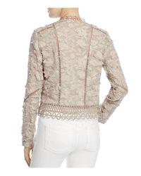 Elie Tahari | Multicolor Leanne Embroidered Jacket | Lyst