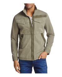 G-Star RAW - Green Deline Shirt Jacket for Men - Lyst