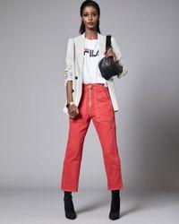 Fila - White Miss Eagle Cotton T-shirt - Lyst