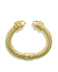 David Yurman - Metallic Renaissance Bracelet In Gold - Lyst