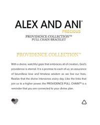 ALEX AND ANI - Metallic Precious Metals Symbolic Path Of Life Pull Chain Bracelet - Lyst