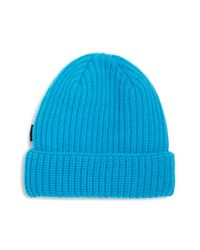 Paul Smith - Blue Ribbed Lambswool Hat for Men - Lyst