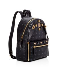 MCM - Multicolor Small Dual Stark Backpack - Lyst
