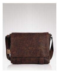 Frye | Brown Logan Messenger Bag for Men | Lyst