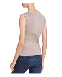 Bailey 44 - Multicolor Sound Stage Metallic Rib-knit Top - Lyst