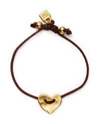 Uno De 50 - Metallic Heartleft Bracelet - Lyst