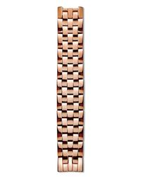 Philip Stein | Pink Mini Rose Gold Plated 5-link Watch Bracelet, 12mm | Lyst