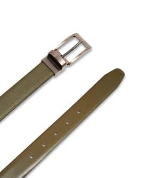 Ted Baker - Green Kong Leather Reversible Belt for Men - Lyst