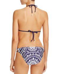 Trina Turk - Blue Indochine String Hipster Bikini Bottom - Lyst