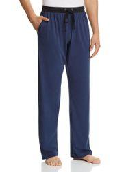 Daniel Buchler - Blue Contrast Lounge Pants for Men - Lyst