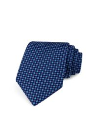 Ted Baker - Blue Circle Neat Classic Tie for Men - Lyst