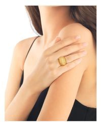 John Hardy - Metallic Bedeg 18k Gold Dome Ring - Lyst