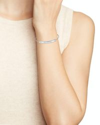 Kate Spade - Metallic Pavé Bar Bracelet - Lyst