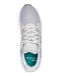 Adidas - Gray Men's Eqt Support Knit Lace Up Sneakers for Men - Lyst