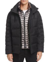 Andrew Marc - Black Breuil Mid-length Puffer Jacket for Men - Lyst