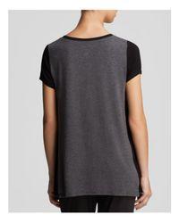 DKNY - Gray Urban Essential Colorblock Tee - Lyst