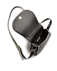 Tory Burch - Brown Fret-t Small Saddle Bag - Lyst