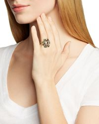 Sorrelli - Metallic Faceted Cluster Statement Ring - Lyst