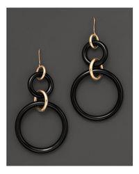Faraone Mennella - Metallic 18k Yellow Gold And Onyx Earrings - Lyst