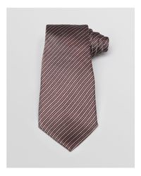 Armani | Multicolor Broken Herringbone Stripe Classic Tie for Men | Lyst