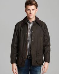 Barbour   Green Classic Bedale Waxed Cotton Coat for Men   Lyst